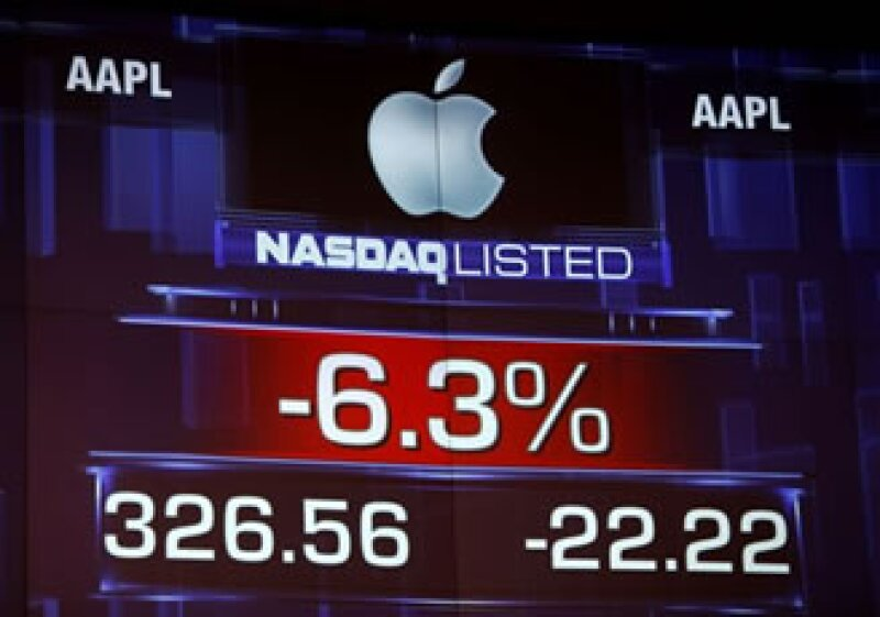 La nueva ponderación de Nasdaq generó descontento entre los inversionistas de Apple porque las acciones serán castigadas por haber cuatruplicado su valor en los últimos dos años. (Foto: AP)