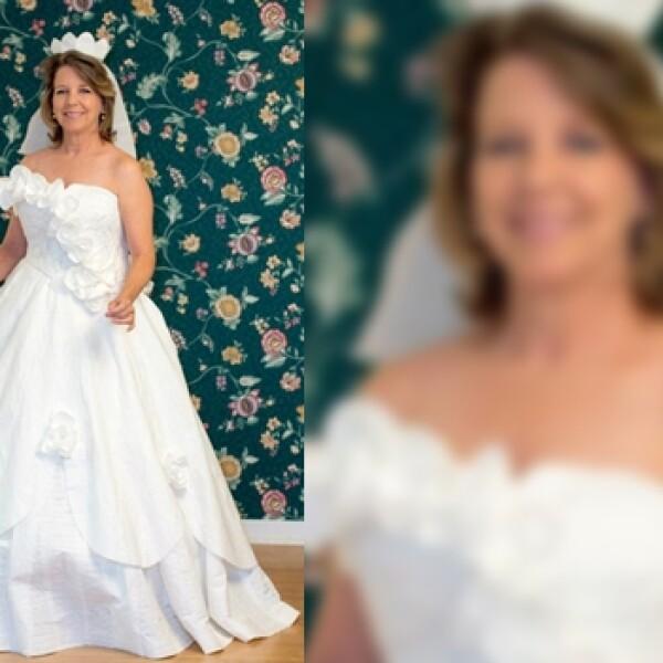 novia, vestidos, papel