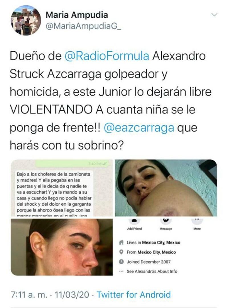 Tuit María Ampudia González