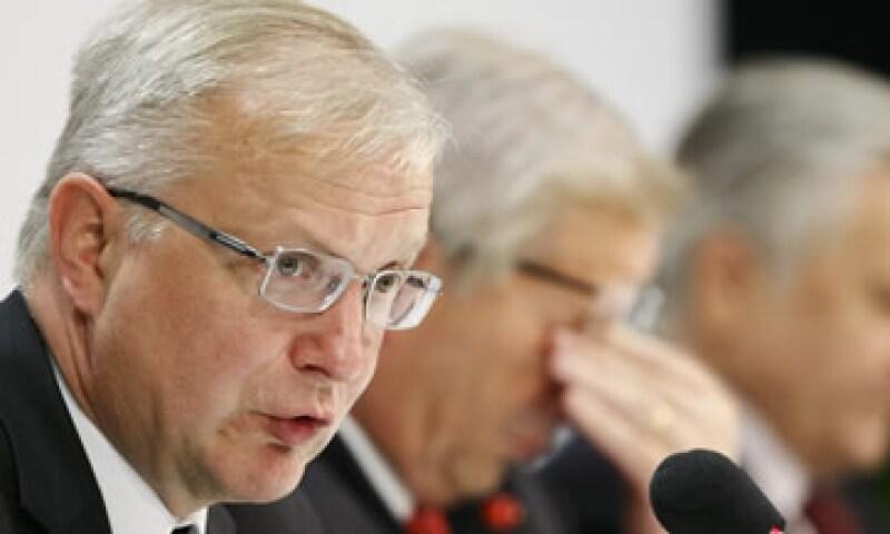 """Europa debe trabajar para una """"soberanía económica"""" para solucionar la crisis, explicó el funcionario. (Foto: Reuters)"""