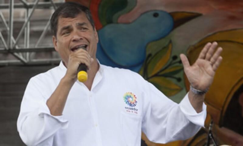 Nuestra dignidad no tiene precio, dijo el presidente Rafael Correa. (Foto: Reuters)