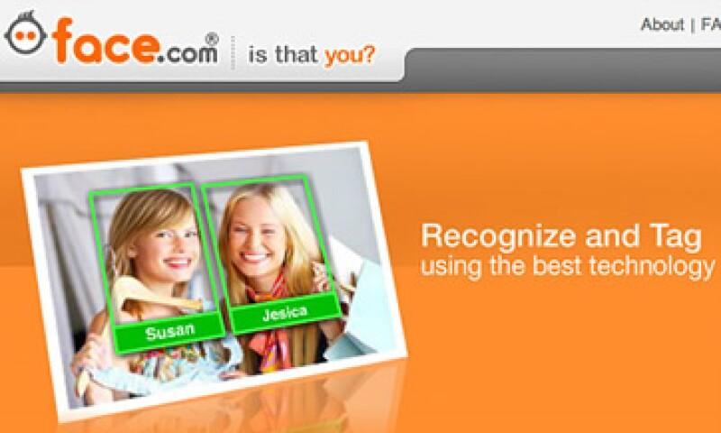 La tecnología de Face.com evita la revisión de rostros en todo Internet. (Foto: Cortesía CNNMoney)