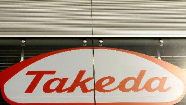 logo de farmac�utica Takeda