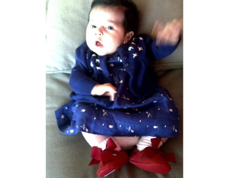 Tiene dos meses de nacida y ya está al último grito de la moda.