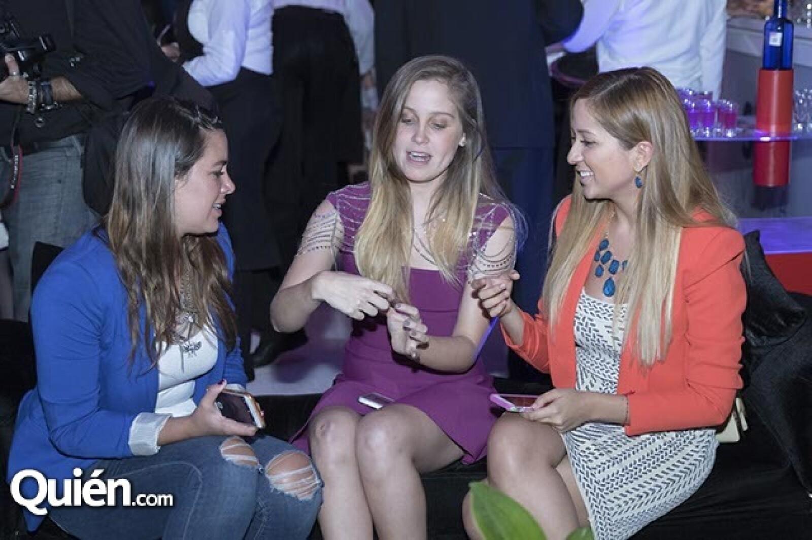 Carolina Lopez,Natasha Dupeyron y Mafer Lara