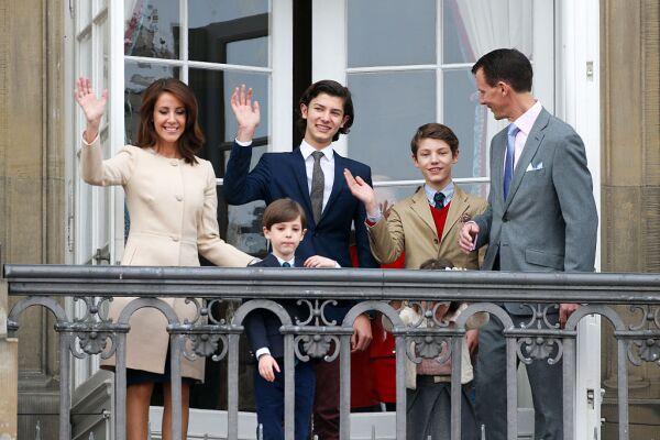 Familia del príncipe Joaquín