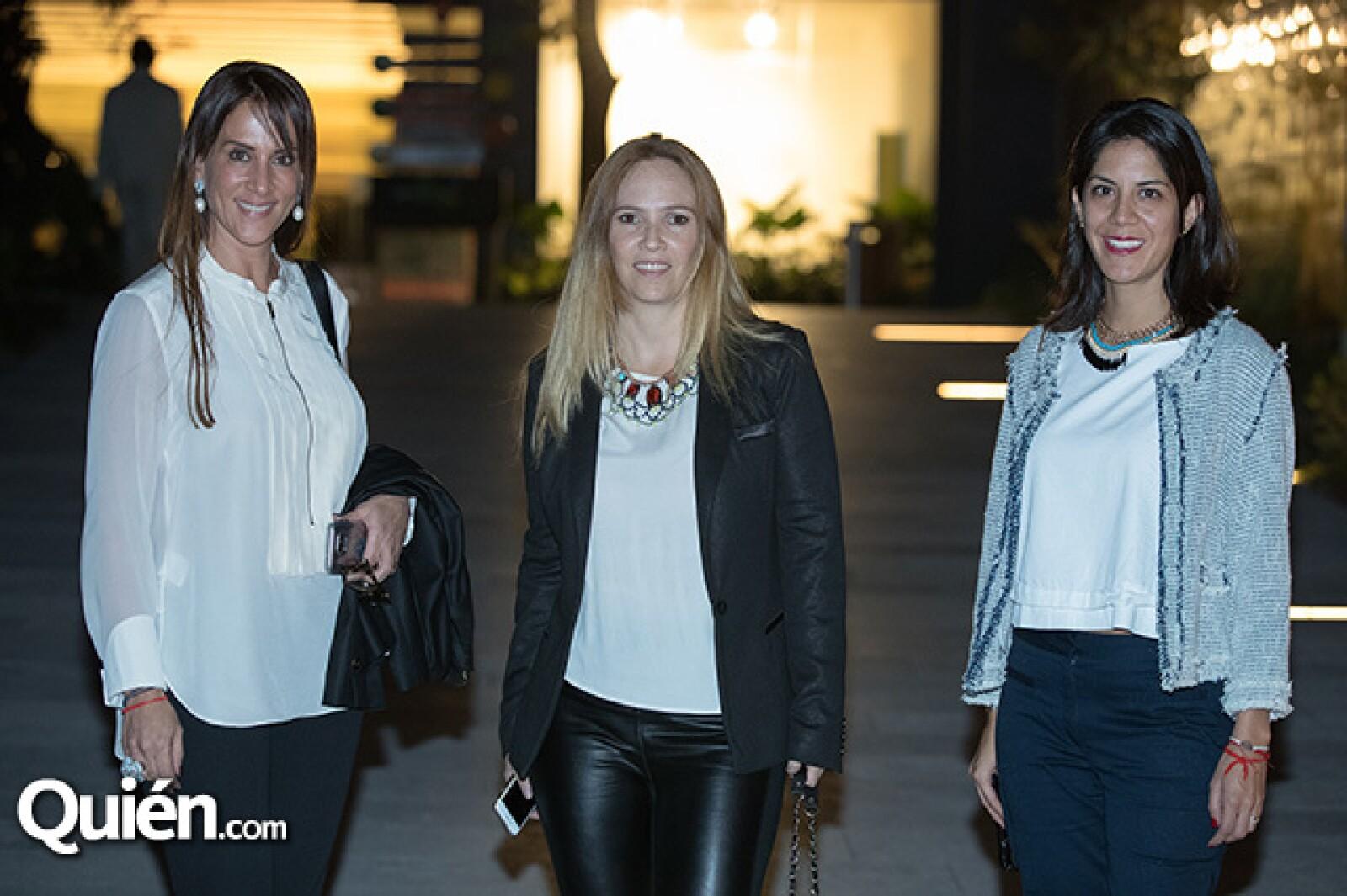 Verónica Salame, Galia Ziman y Stephanie Beckmann