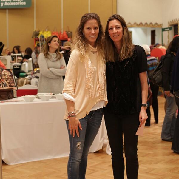 Sharon Fastlicht y Laura Laviada