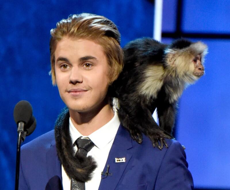 El cantante quiere un nuevo mono, después de que abandonara el que tenia en Alemania, por lo que ha recibido críticas de una asociación.
