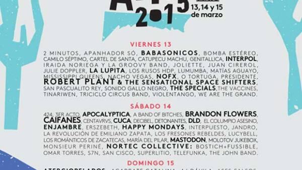 El festival de música iberoamericano está cada vez más próximo, por lo que te dejamos la alineación y los headliners que no te puedes perder.