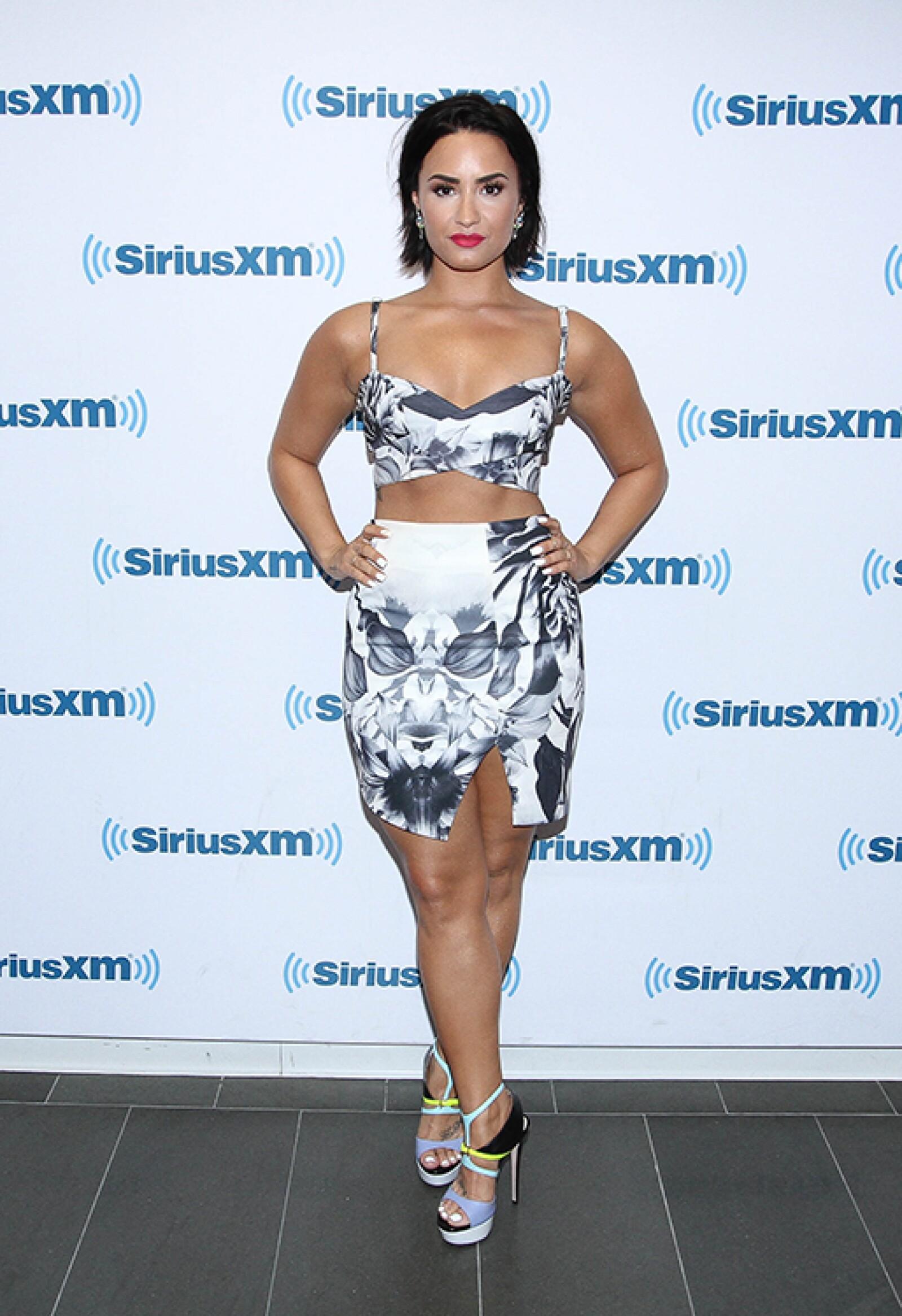 La cantante ha dedicado los últimos meses a ejercitar su cuerpo y ponerse en forma.