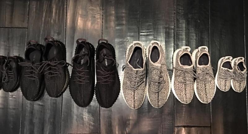 La colección de calzado para la amilia West-Kardashian