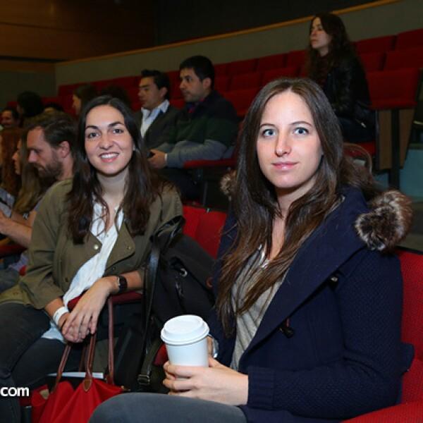Eugenia Sierra y Nicole Kilpstein