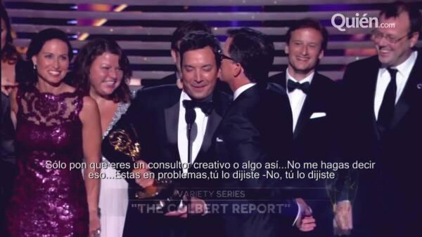 Discursos, chistes, homenajes y hasta besos inesperados. De todo esto se trató el Emmy 2014.