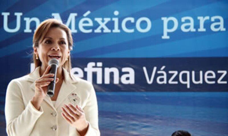 Vázquez Mota marcha como favorita para ganar el proceso interno de selección del candidato presidencial del PAN. (Foto: Notimex)