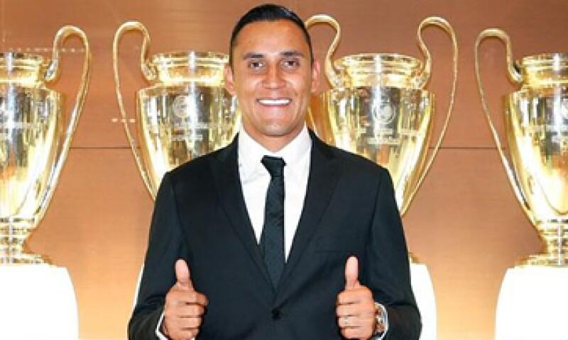Keylor Navas ha jugado para el Albacete y el Levante. (Foto: tomada de realmadrid.com)