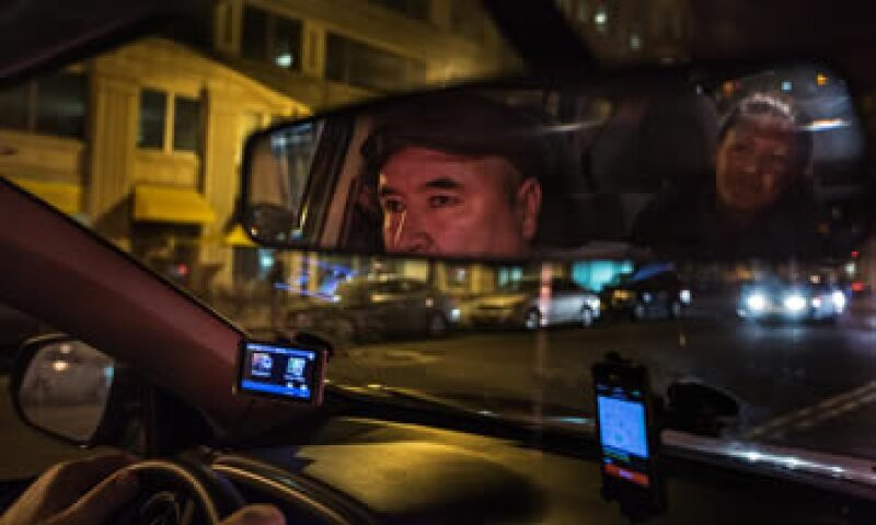 Un conductor de Uber, que forma parte de los millones de trabajadores en demanda de Estados Unidos (Foto: Getty Images/Archivo )