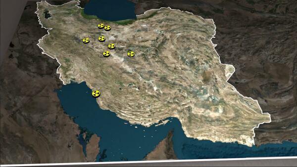 ¿Dónde se encuentran las instalaciones nucleares iraníes?