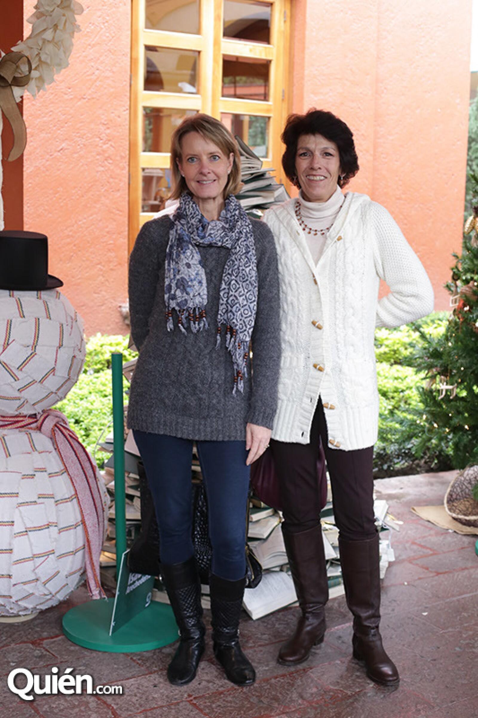 Patricia Saldati y Malú de la Cajiga