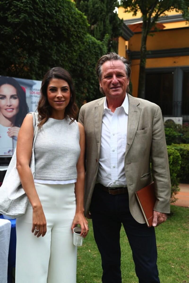 Sylvana Beltrones y Giorgio Brignone