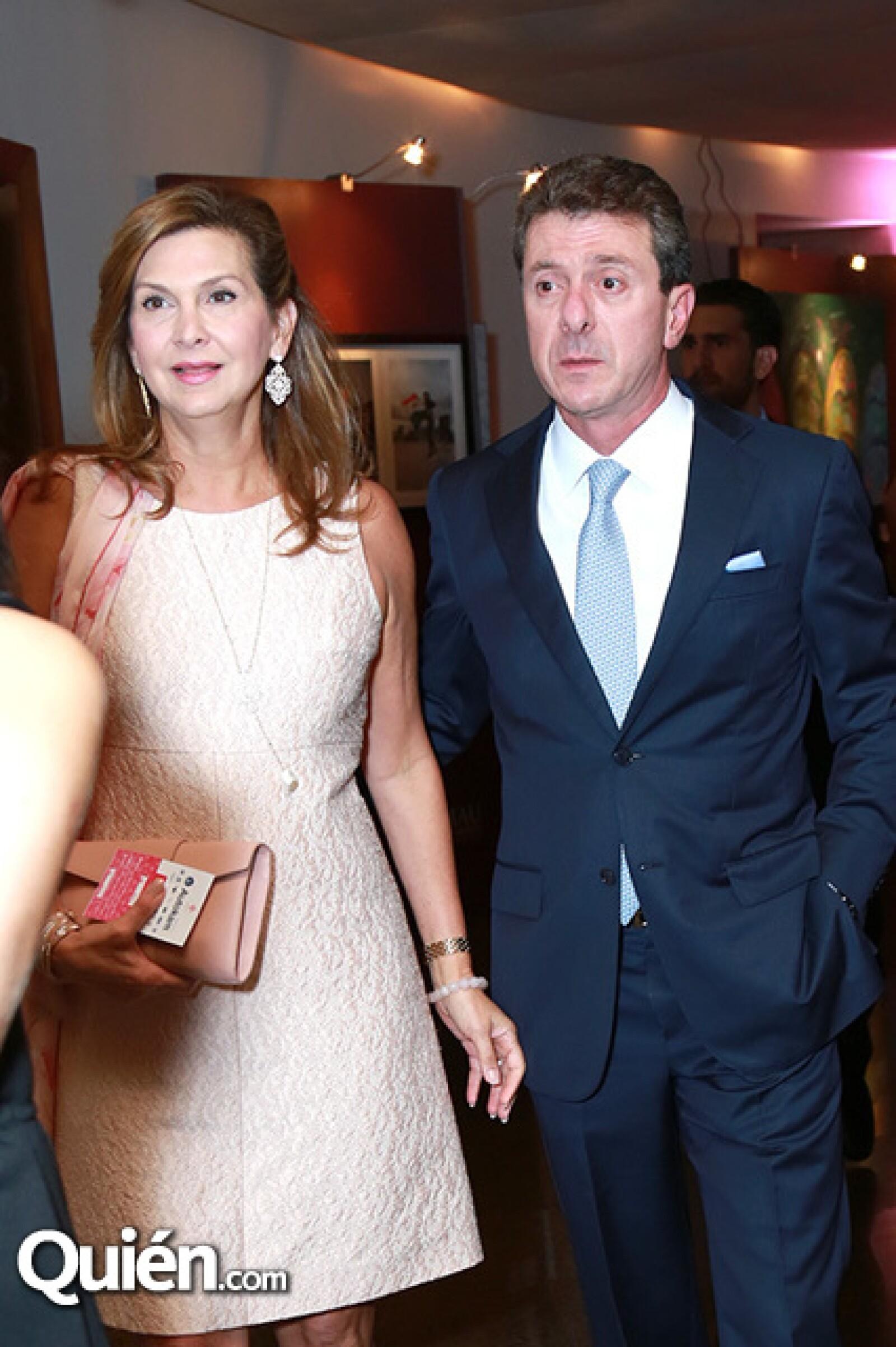 Mónica Santos de Canavati y Adrián Canavati
