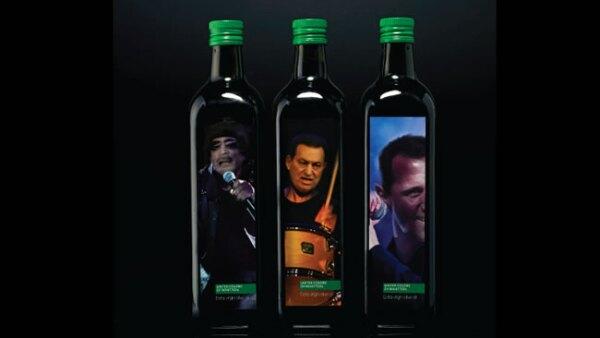 Arte de Peddy Mergui. Bottelas Benetton