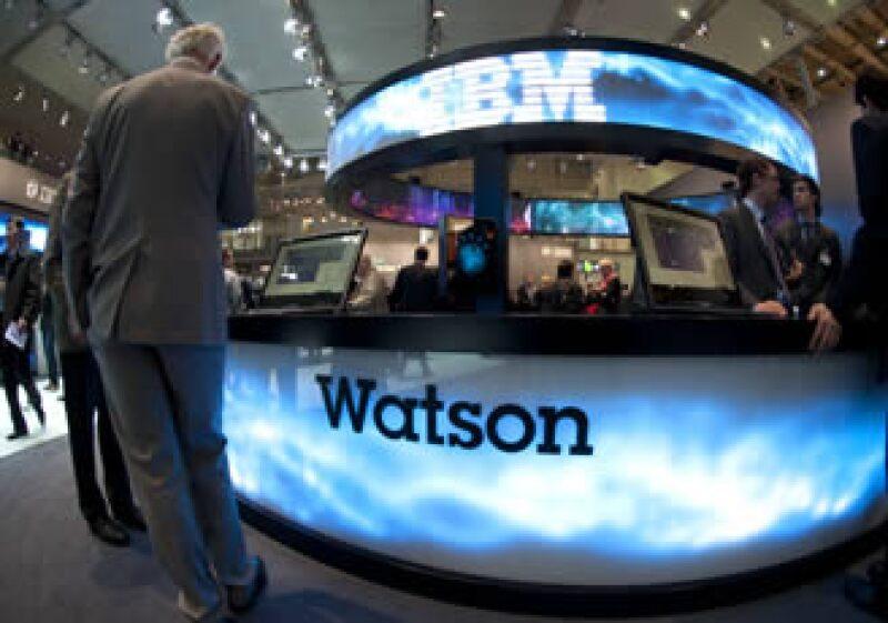 El sistema de inteligencia Watson de IBM es capaz de analizar datos y regresar los resultados en lenguaje natural, es decir, hablando. (Foto: AP)