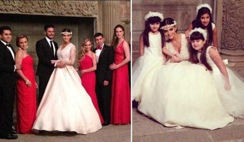 Marisol González y el deportista se casaron este fin de semana en la Ciudad de México.