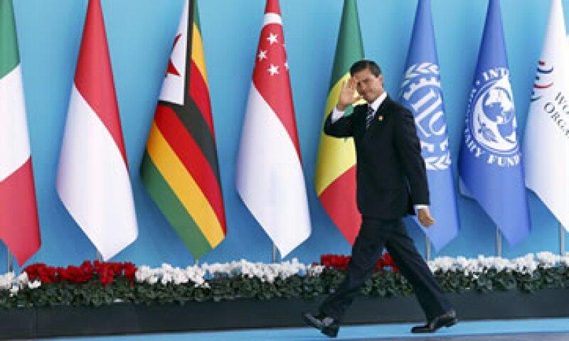 Peña destacó que la agenda propuesta por Turquía, como actual presidente del G20, está enfocada en incrementar la inversión real. (Foto: Reuters )