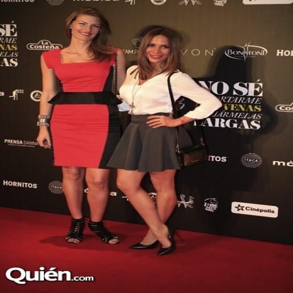Sol Méndez y Estela Calderón
