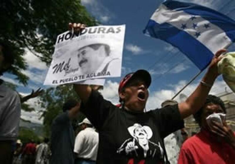 Honduras vive una de sus peores crisis polítcas en su historia moderna. (Foto: AP)