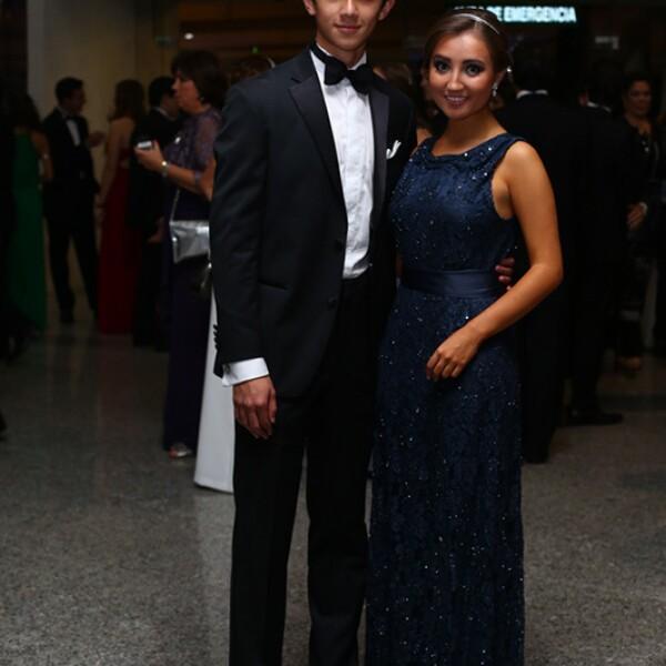 Alejandro García y Paola Castellanos