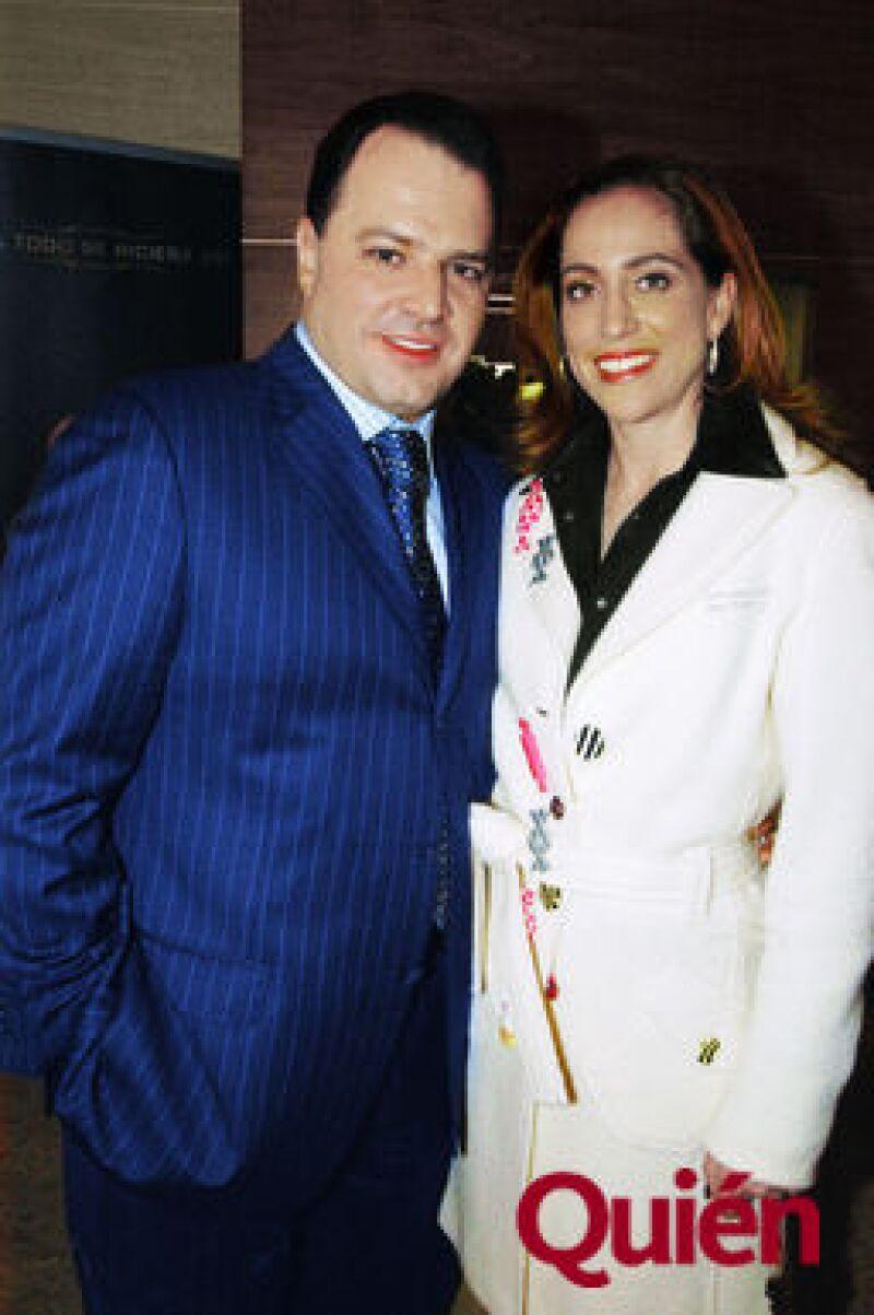 Federico de la Madrid y Fabiola Sánchez