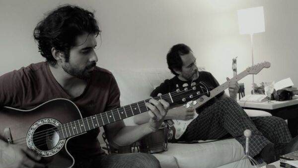 José Ángel y Demian Bichir