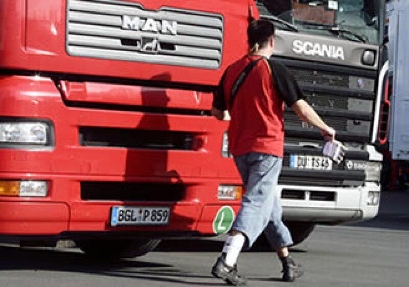 La estrategia de MAN y Volkswagen es aprovechar la recuperación en el mercado de camiones en México. (Foto: AP)