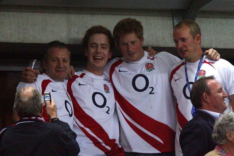 El príncipe Harry y sus amigos