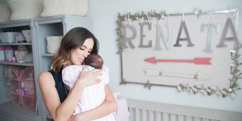Jacky compartió este jueves imágenes del recámara de Renata sin la compañía de su esposo.