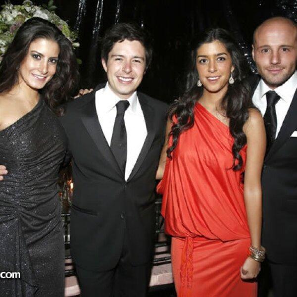 Fernanda Cué, Daniel e Ivanna Velasco y Martín Samano
