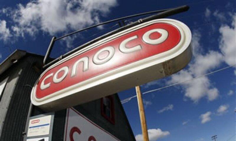 Conoco es la tercera mayor petrolera de EU después de Exxon Mobil y Chevron. (Foto: AP)