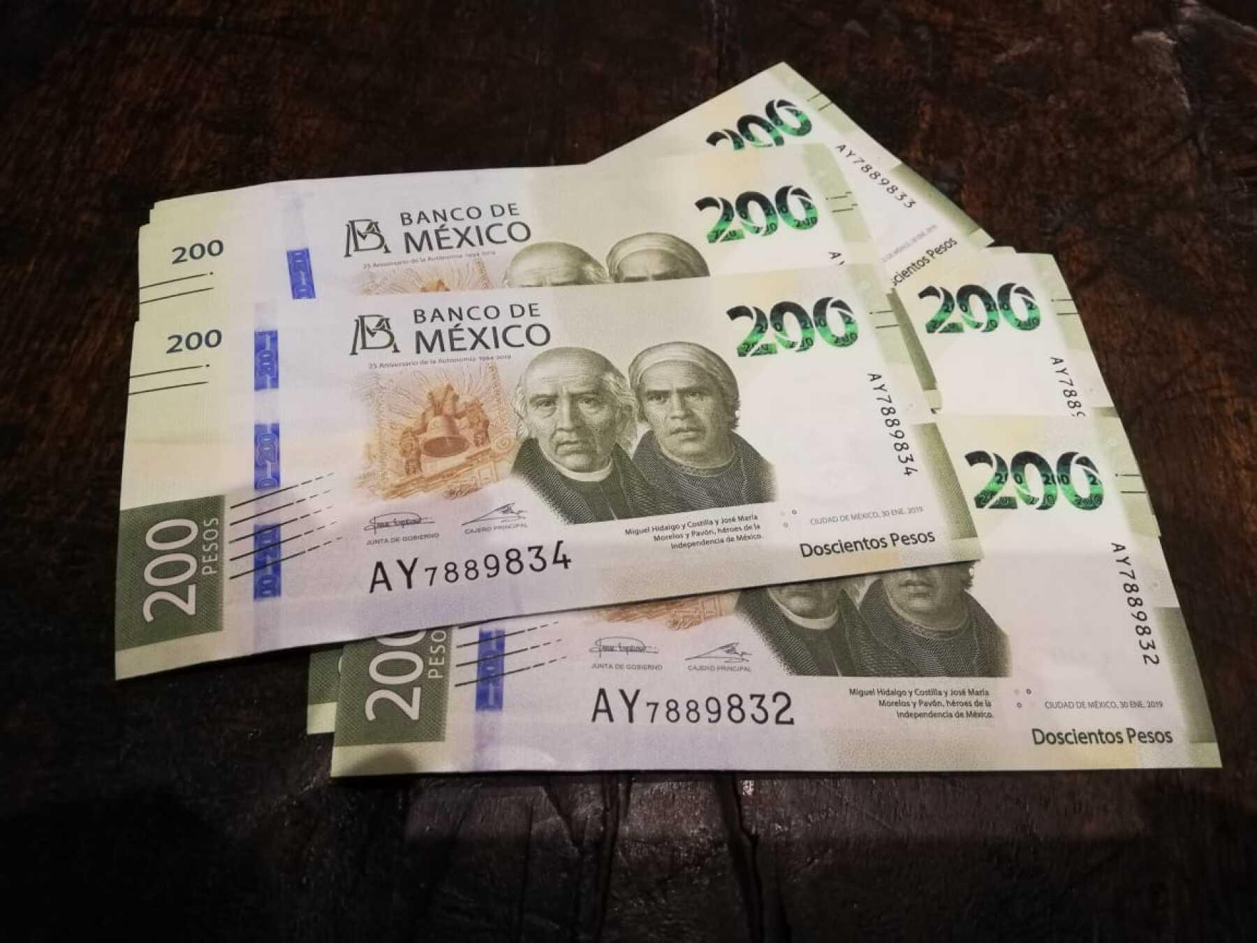 Banxico billete 200