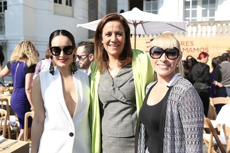 Ana de la Reguera, Margarita Zavala y Yuri