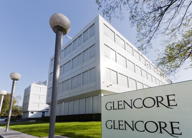 Glencore Company Headquarters in Zug/Baar (Switzerland)