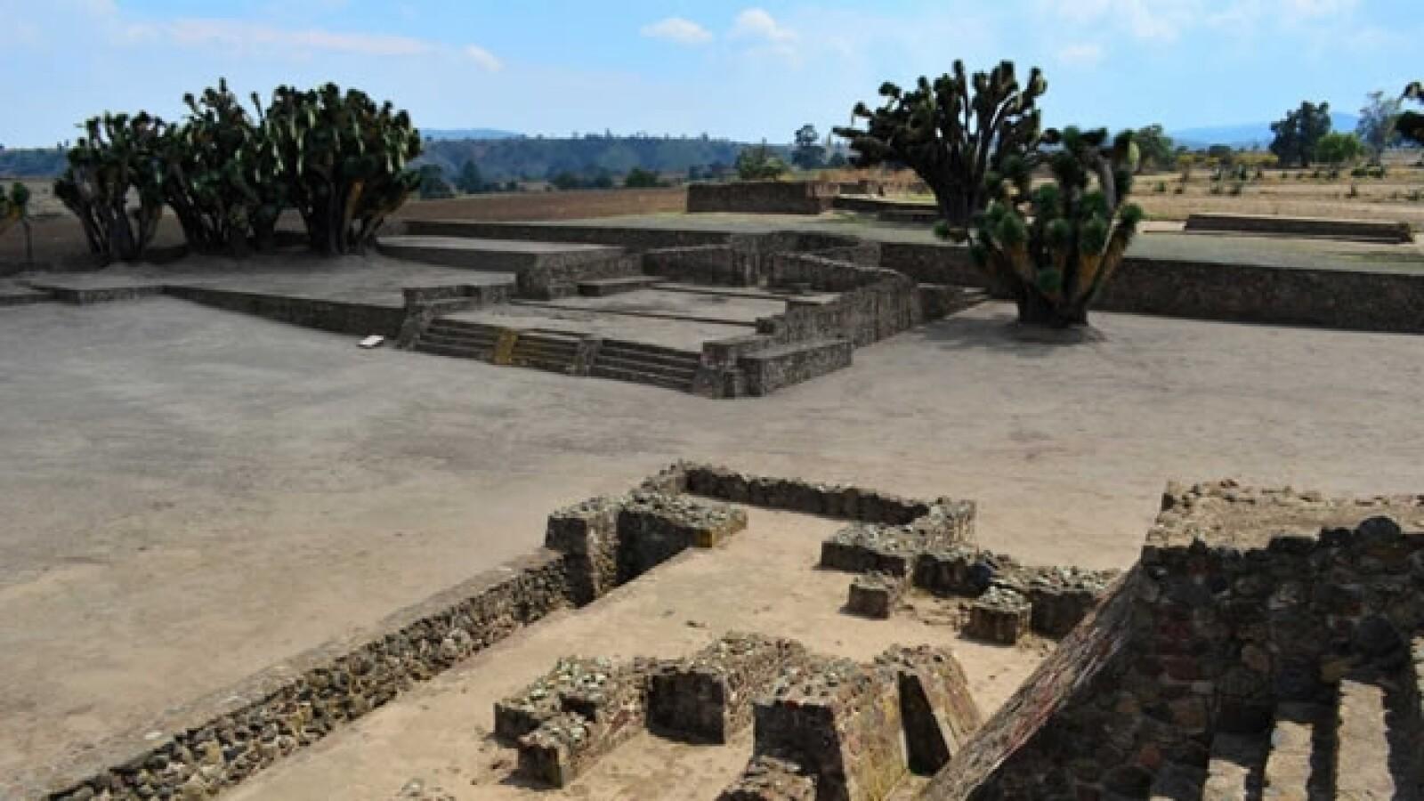 zona arqueologica en tecoaque, tlaxcala
