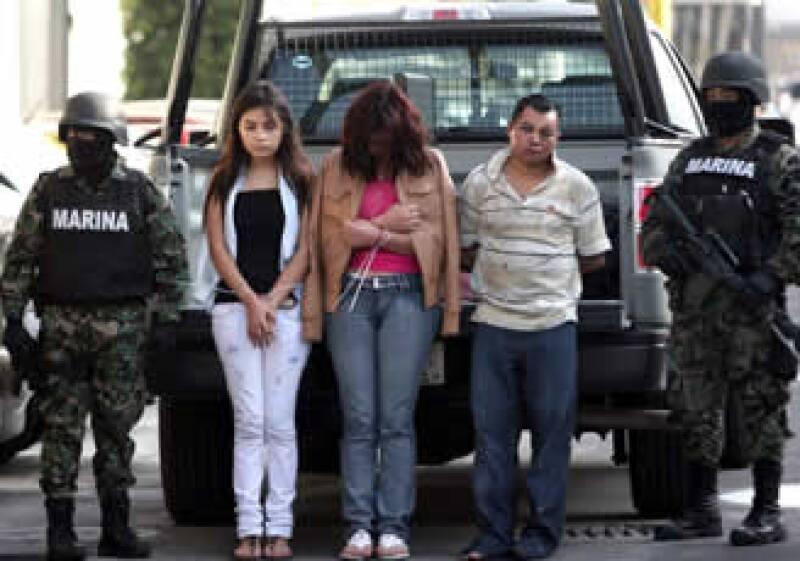 Tres personas fueron detenidas tras el operativo militar realizado este miércoles en el estado de Morelos. (Foto: Notimex)