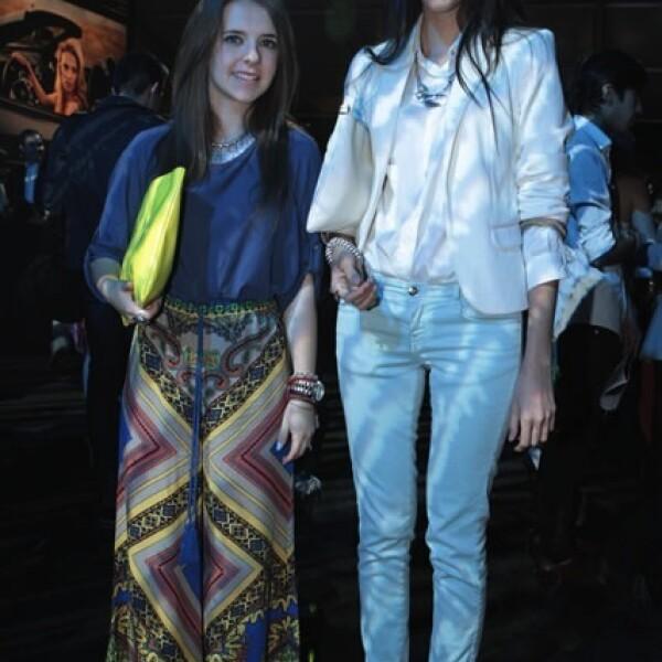 Lizette Olavarrieta y Andrea Galindo