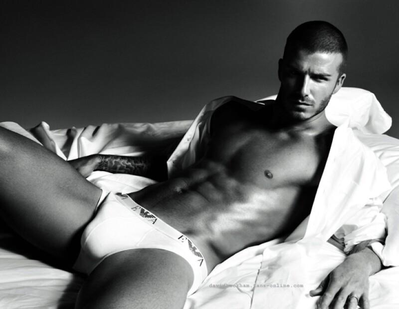 David Beckham, sexy para Armani