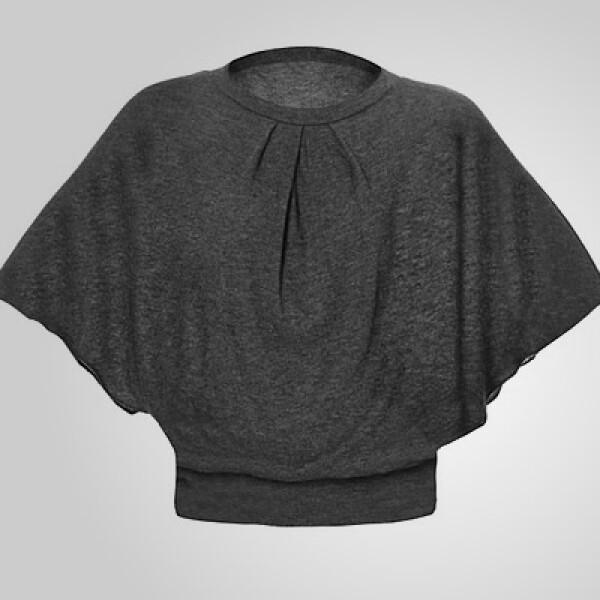 Una chaquetilla en color gris para abrigarte cuando sales de ese restaurante o bar.