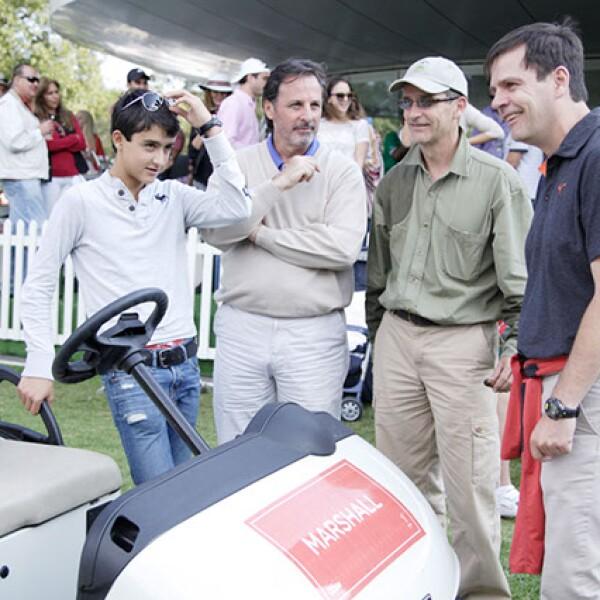 Luis Legarreta, Antonio López, Luis Legarreta y Carlos Legarreta