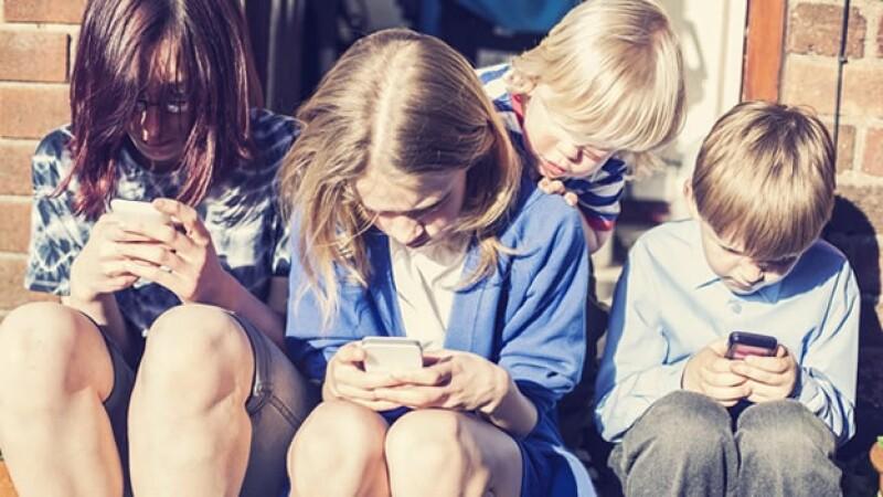 smartphones ninos