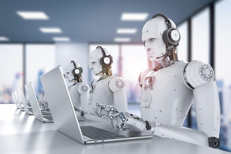 robots call center